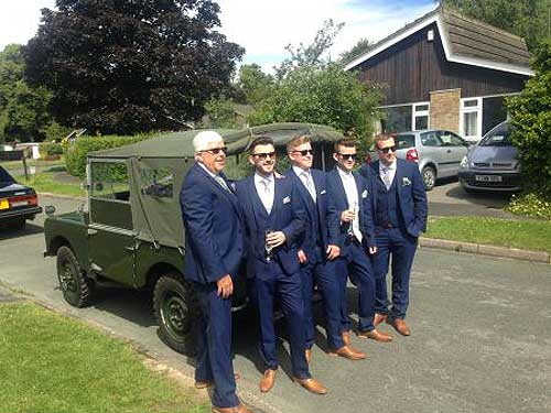 Landrover Series 3 Grooms