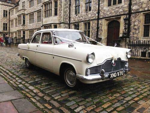 Ford Zephyr Swanmore Wedding Cars