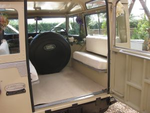 Landrover Series 3 Interior