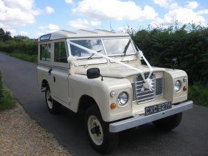 Swanmore Wedding Cars Landrover Series 3