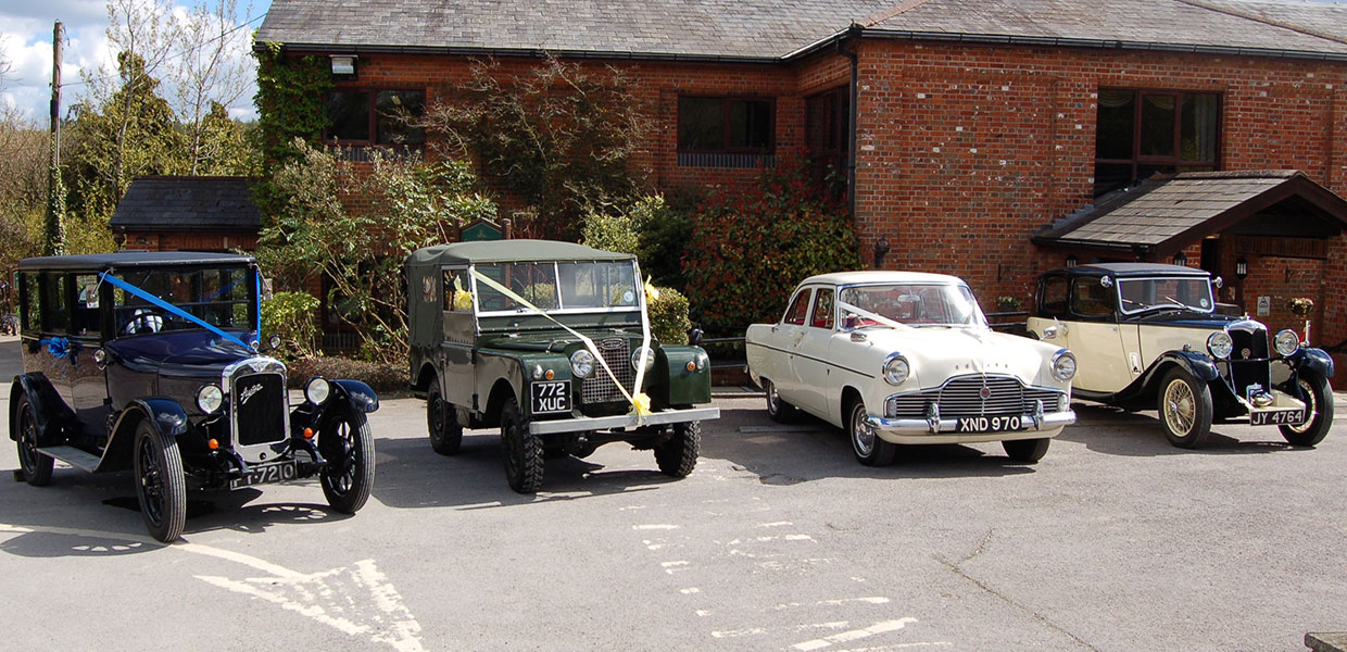 Swanmore Wedding Car Lineup