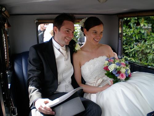 Inside the Austin Swanmore Wedding Cars