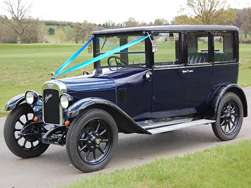 Austin 12 Swanmore Wedding Cars
