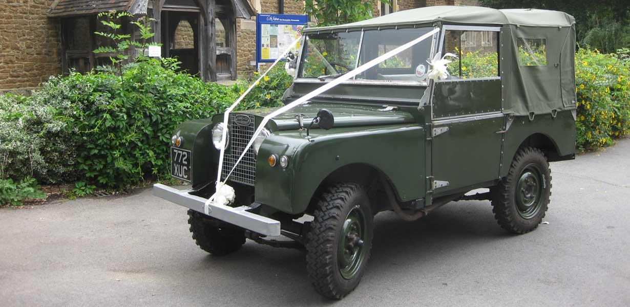 Landrover Series 1 Swanmore Wedding Cars