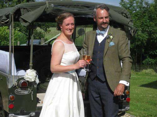 Landrover series 1 Bride